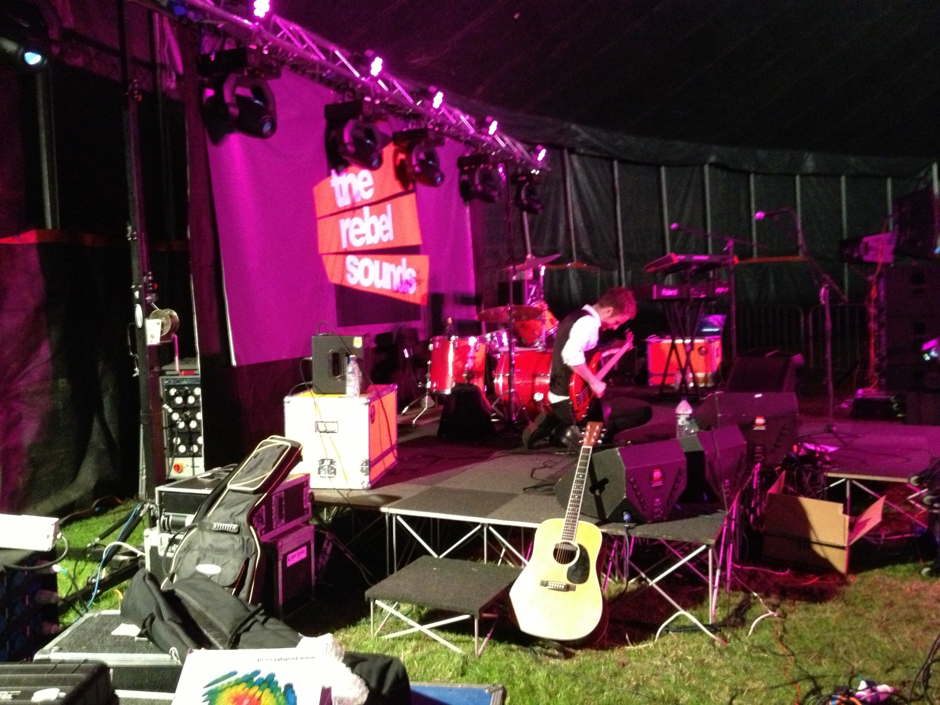 The Rebel Sounds - The VW Festival - Harewood House - 2013