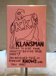 Ku Klux Klan Warning