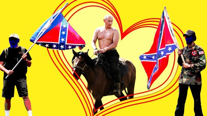To Russia With Love: U.S. Extremists Are Mad About Vlad