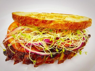 Sweet BBQ  R-Sandwich$8.95
