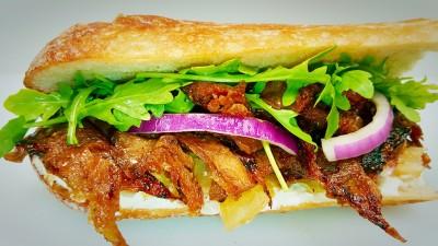 Grilled D-Sandwich$7.95
