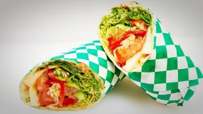Veggies Fresh Wrap$7.95