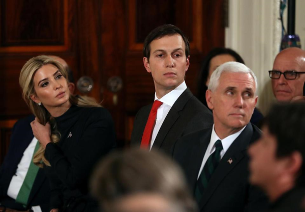 Jared Kushner, The VP, and Breakfast at the Russian Embassy?