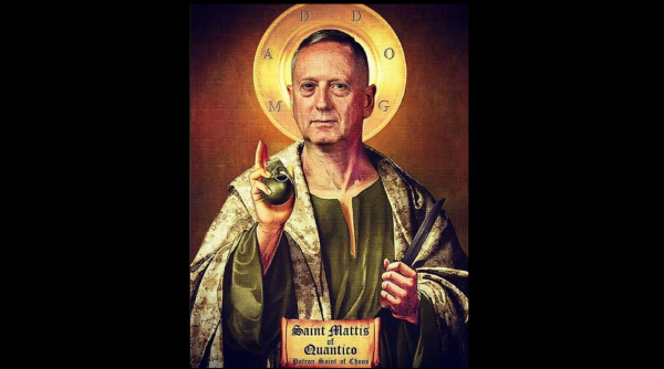 "What keeps ""Mad Dog"" Mattis awake at night?"
