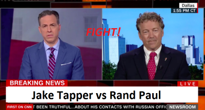 Gloves Off! Rand Paul vs Jake Tapper on Paris Climate Accord!