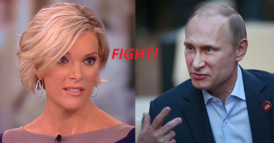 Megyn Kelly vs Vladimir Putin She was not intimidated!