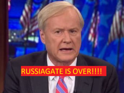 Chris Mathews on Why RussiaGate is Over!