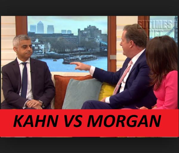 """Where Are They?"" Piers Morgan vs Sadiq Kahn on Terrorist."