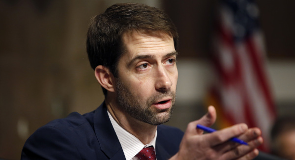 """Tom Cotton, """"The greatest caper in the history of espionage"""""""