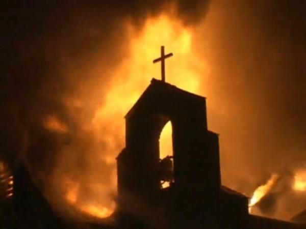 Islamist Destroy Catholic Church