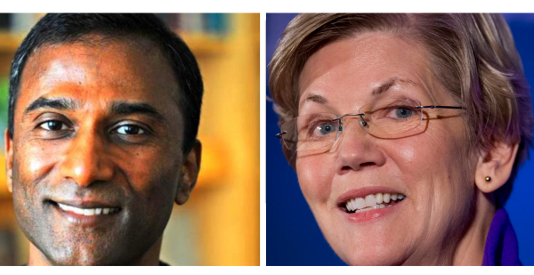 Elizabeth Warren Sent DNA Test by Her Senate Opponent and Here is the Video