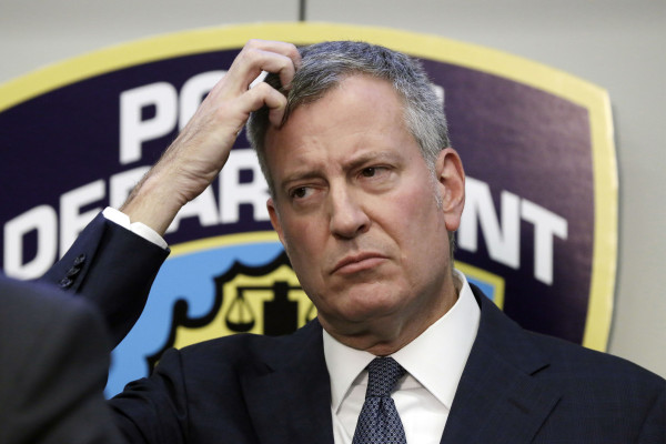 Where Is De Blasio? A City Mourns One Cop While Others Sworn-In Without a Mayor!