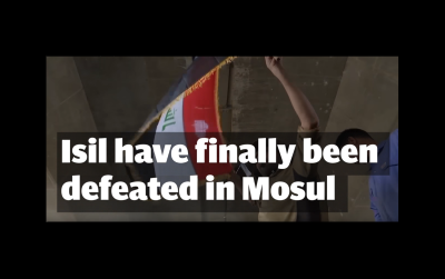 Celebration in Mosul as ISIL Falls!