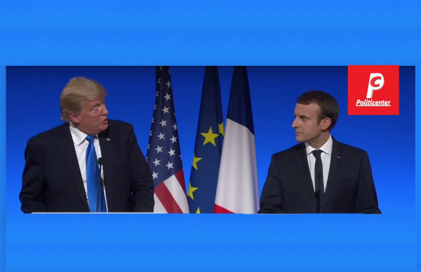 """Trump to Macron,  """"Our Fates Are Tied Together More So Than Ever"""""""