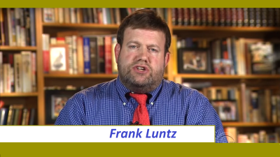 Frank Luntz Calls Out CBS on Selective Edits While on CBS, They Were Not Amused.
