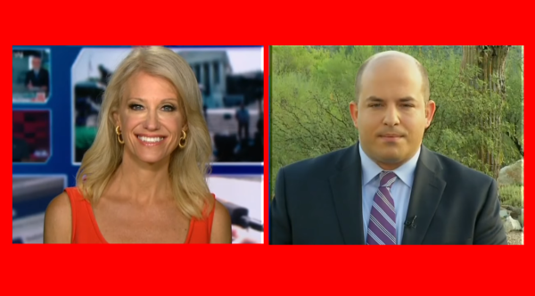 """CNN Made Business Decision to Be Anti Trump"" Kelly Anne vs Brian Stelter"