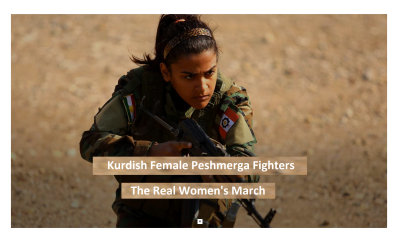Teenage Girl is Fighting ISIS, The Real Women's March Against True Evil!