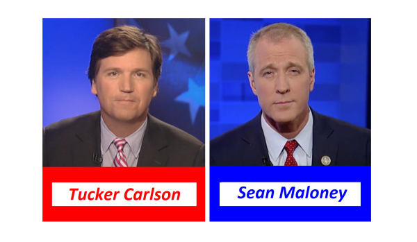 Explosive Debate on Trans Ban! Tucker Vs Rep. Sean Maloney (D)