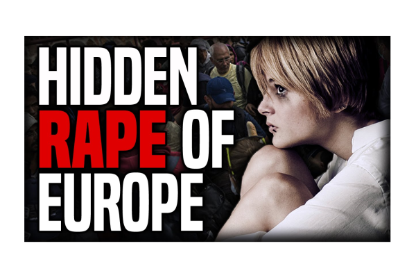 Girl Raped by 2nd Man After Fleeing First Rape! Europe's New Rape Culture!
