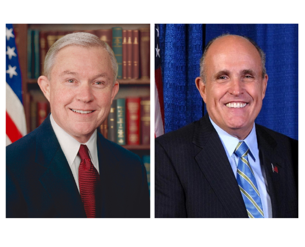 Sessions Promoted to DHS and Rudy Giuliani Attorney General?