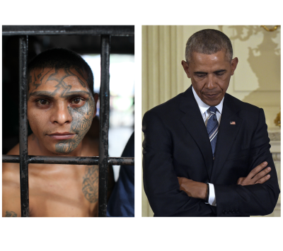 MS-13 The Juvenile Killers Obama Put in Our Schools! Tucker in El Salvador.