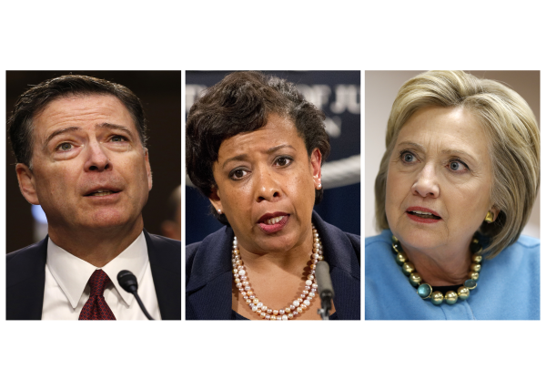 "Special Counsel for Lynch, Comey, and Clinton. ""Real Crimes and Real Criminals"""