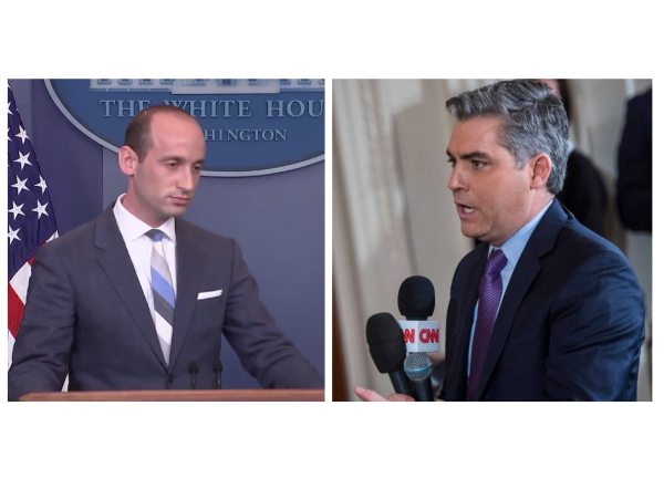 CNN's Jim Acosta's Called Out on Racist Question At Press Briefing!