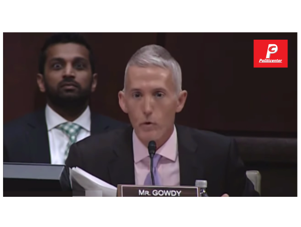 Real DNC Hacker Sits Behind Trey Gowdy! Watch his Face! It is Epic!