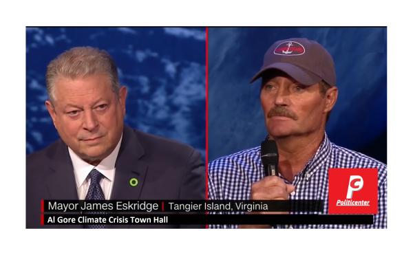 Al Gore Caught in Climate Change Lie! By Common Man's Common Sense!