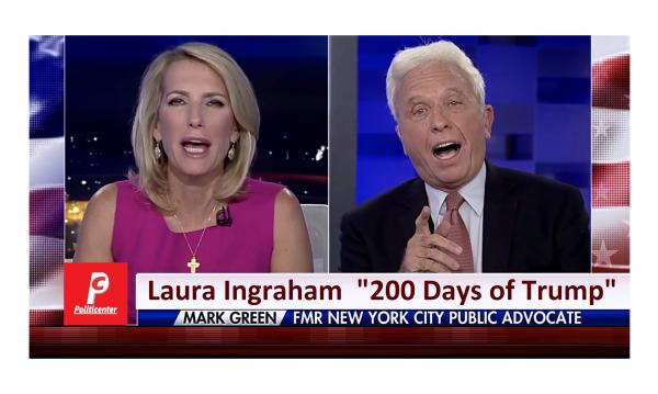 """Mark Pipe Down""  Laura Ingraham Doesn't Hold Back on Mark Green"