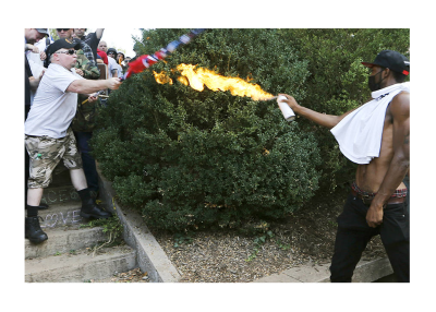 Cops Left When Antifa Threw Gas! Stories from Charlottesville Hidden by Media!