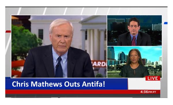 "MSNBC Outs Antifa! ""How is the Truth a False Equivalence?"" Chris Mathews"