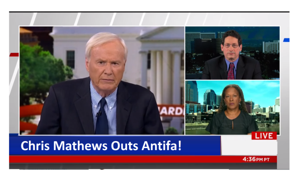 "MSNBC Outs Antifa! ""How is the Truth a False Equivalence?"" Chris Mathews"