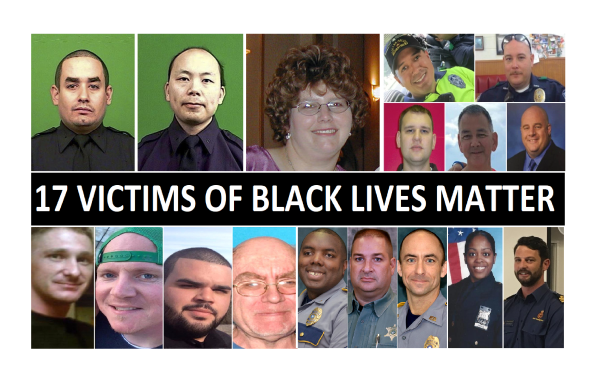 17 People Murdered by BLM, List is Growing! Updated 8-19-17