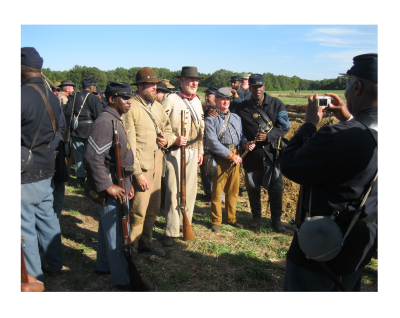 Civil War Reenactors Pepper Sprayed but Police Say It Could Have Been Worse.