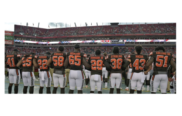 Browns Decide to Stand After Visit from Living Legend!