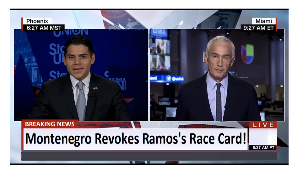 Montenego Revokes Ramos's Race Card! Ramos Was Lost Without It.