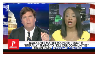 Tucker Makes BLM Admit Being Racist! Liberal Logic Destroyed!