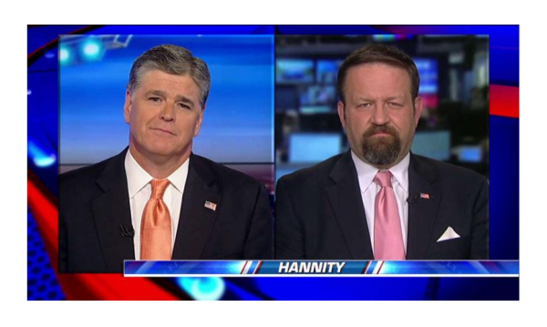 Gorka Tells Hannity He Can Do More From the Outside. Gorka' First Video Interview!