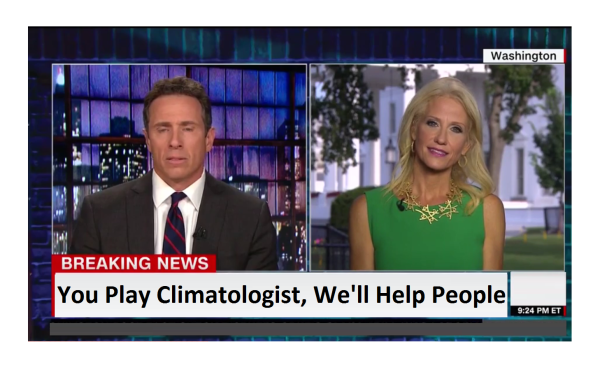 Conway Rains on Cuomo's Climate Change Parade!