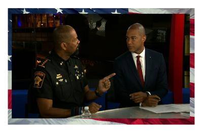 Sheriff Clarke Makes Liberals like Lemon Tremble! He Resigned as Sheriff for New Job.