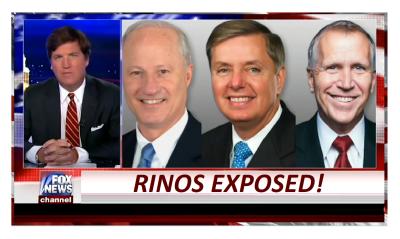 TUCKER UNLEASHES ON RINOS IN CONGRESS! HYPOCRISY EXPOSED!