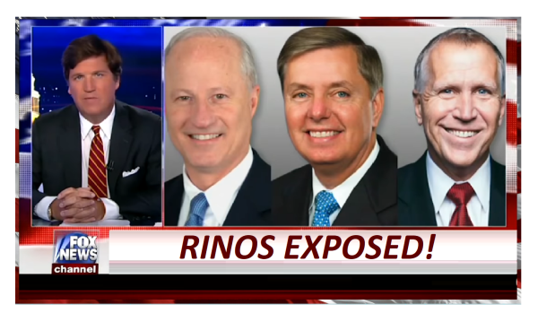 TUCKER UNLEASHES ON RINOS IN CONGRESS! HYPOCRISY EXPOSED!