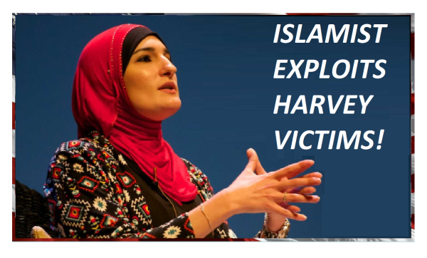 Islamic Supremacist Linda Sarsour Exploits Harvey! Zuhdi Jasser Explains Hidden Motives!