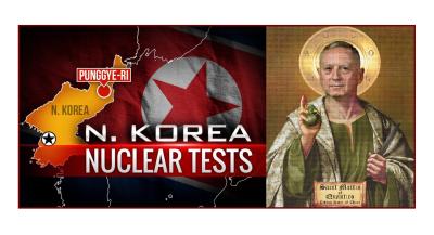 """Complete Annihilation of North Korea"" Mattis Puts Lil Kim on Notice."