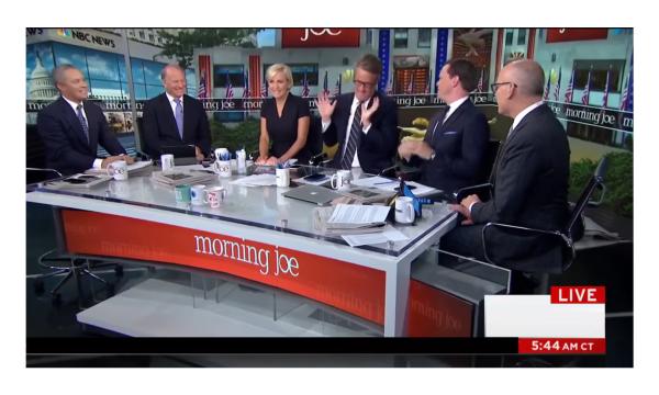 Joes Mock Harvey Trump Visit and Get Mocked! Karma Served Via The Five!