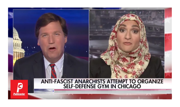 """Antifa Style Gym for Fighting Trump Voters!  Tucker Asks, """"Why Chicago?"""""""