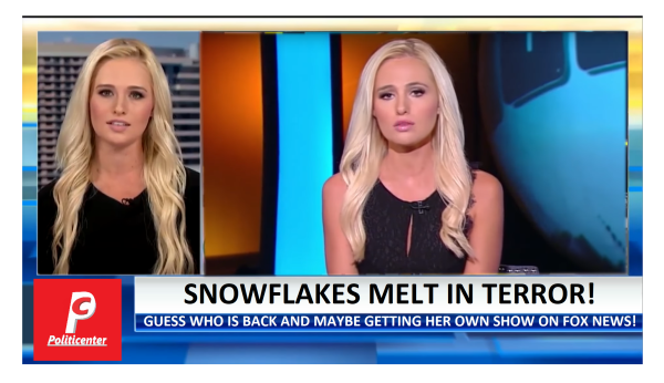 Tomi Lahren May Get New Fox Show. Snowflakes Melt in Terror!