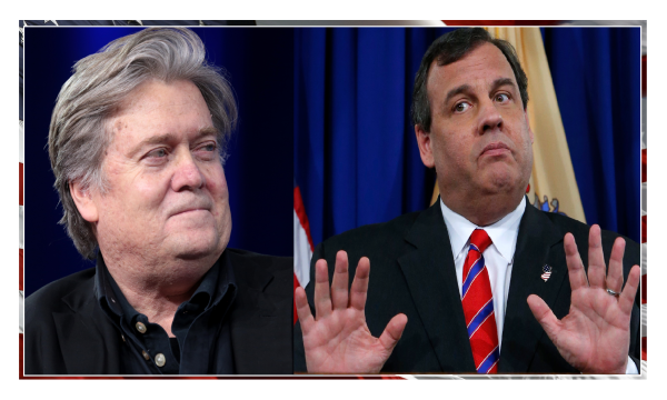"""""""When You Side with a Man, You Side with Him"""" Steve Bannon on Cristie's Mistake."""