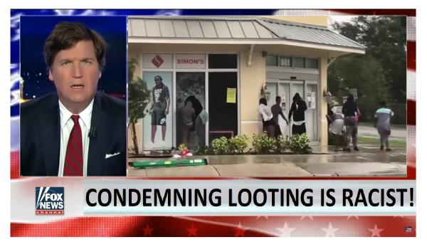 """Racist to Condemn Looting"" says Racist Left Wing Zealots!"